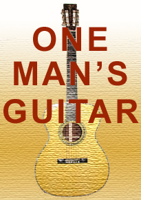 One Man's Guitar logo onemanz.com