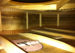 Guitar interior by Randall Kramer