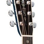 OM-ECHF Navy Blues headstock