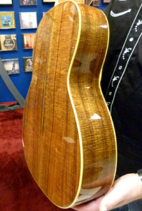 000-28k Authentic 1921 back koa wood