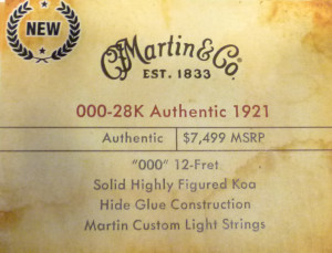 000-28k Authentic 1921 label review at onemanz.com