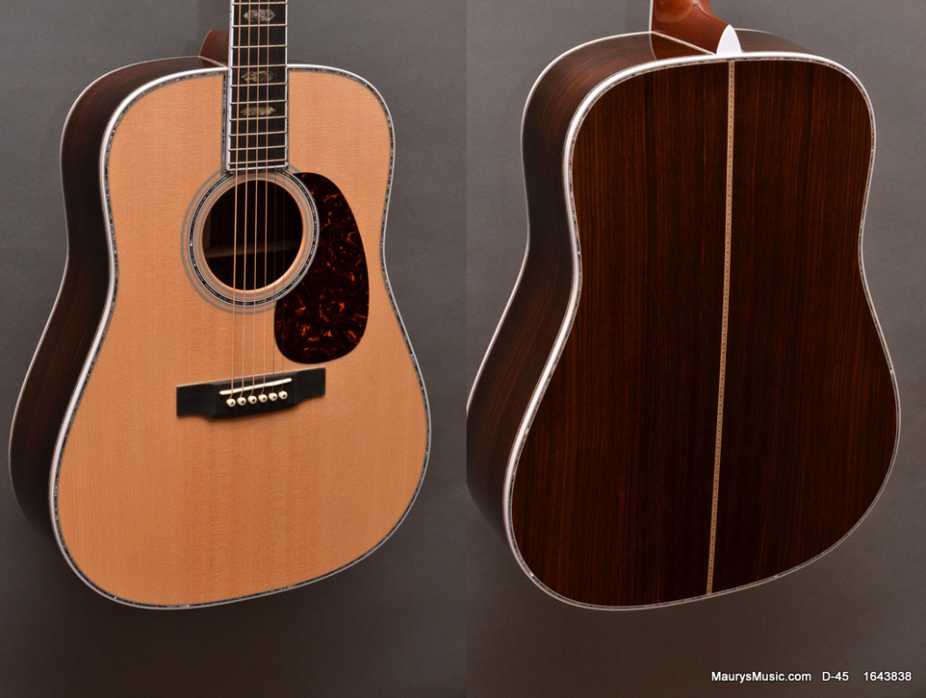 D-45 vs HD-28 D-45 at Maury's Music maurysmusic.com
