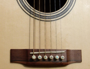 Martin CS-21-11 review at onemanz.com bridge close up