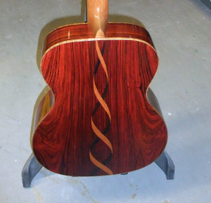 Martin CS-00041-15 cocobolo back w rosewood mahogany trim