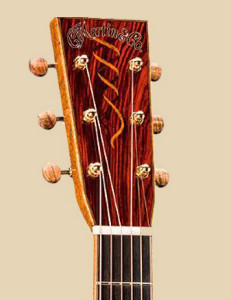 C.F. Martin CS-00041-15 headstock