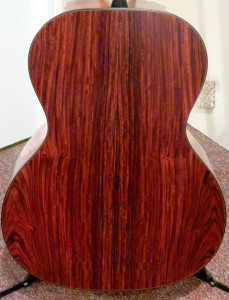 Custom CEO-7 cocobolo back