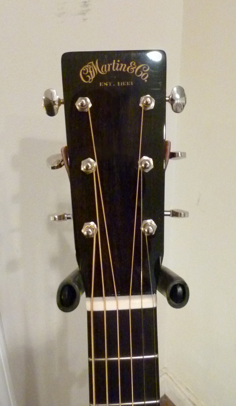 Martin Custom CEO-7 headstock at Mandolin Brothers