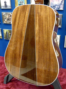 Martin HD-35 CMF IV 60th back close