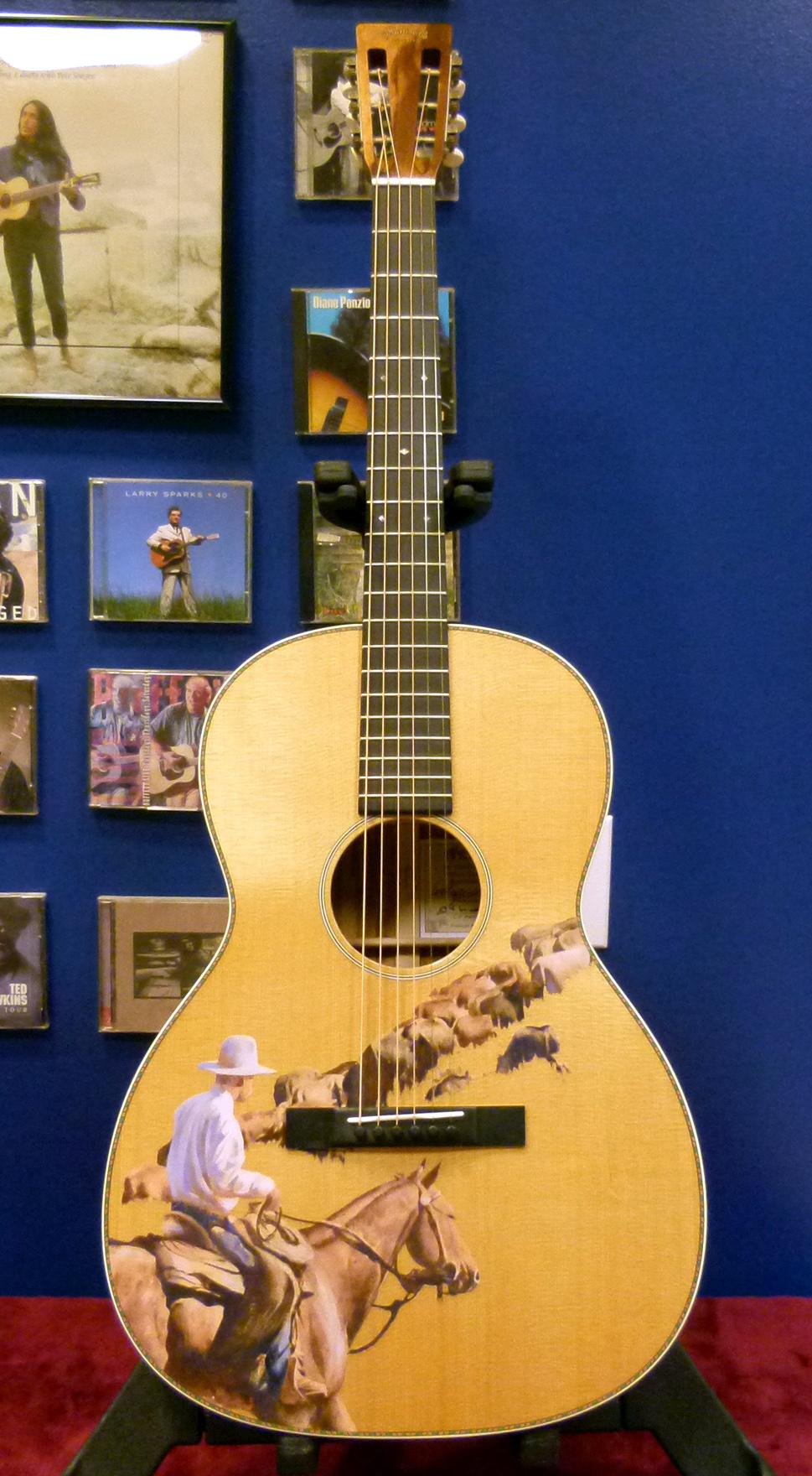 le cowboy 2015 one man 39 s guitar. Black Bedroom Furniture Sets. Home Design Ideas