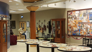 2016 New Martin Guitars lobby shot