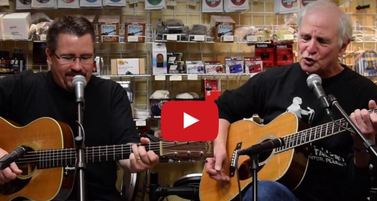 Maury's Music guitarist video