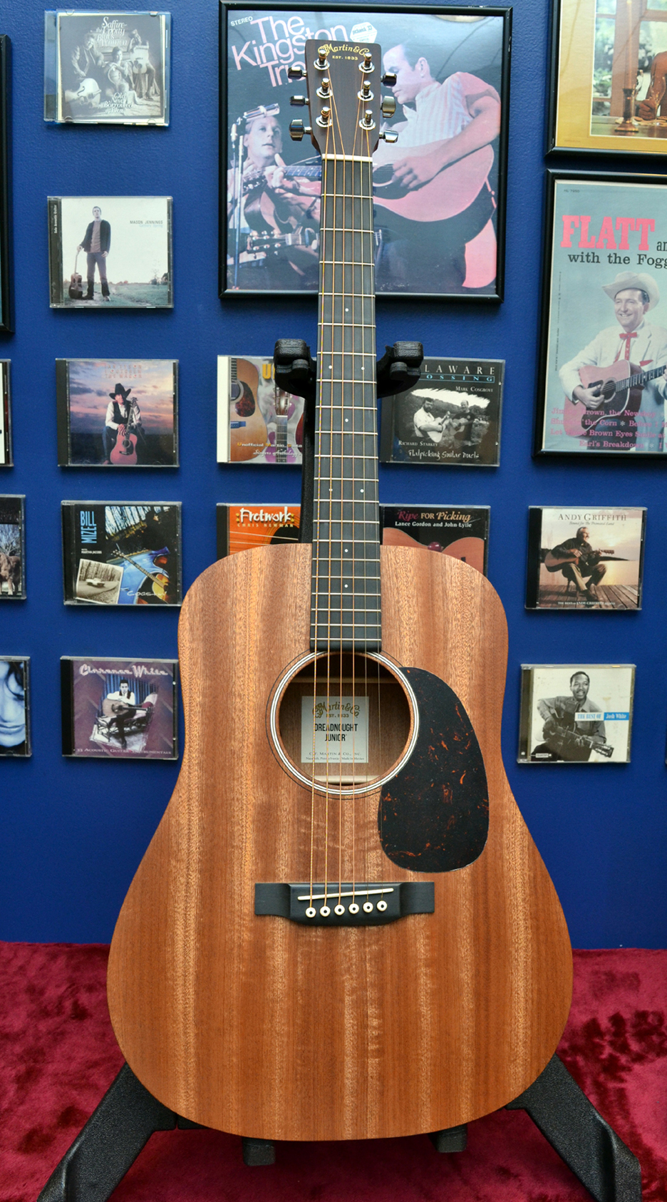 Martin D Jr 2 Sapele full photo NAMM 2017