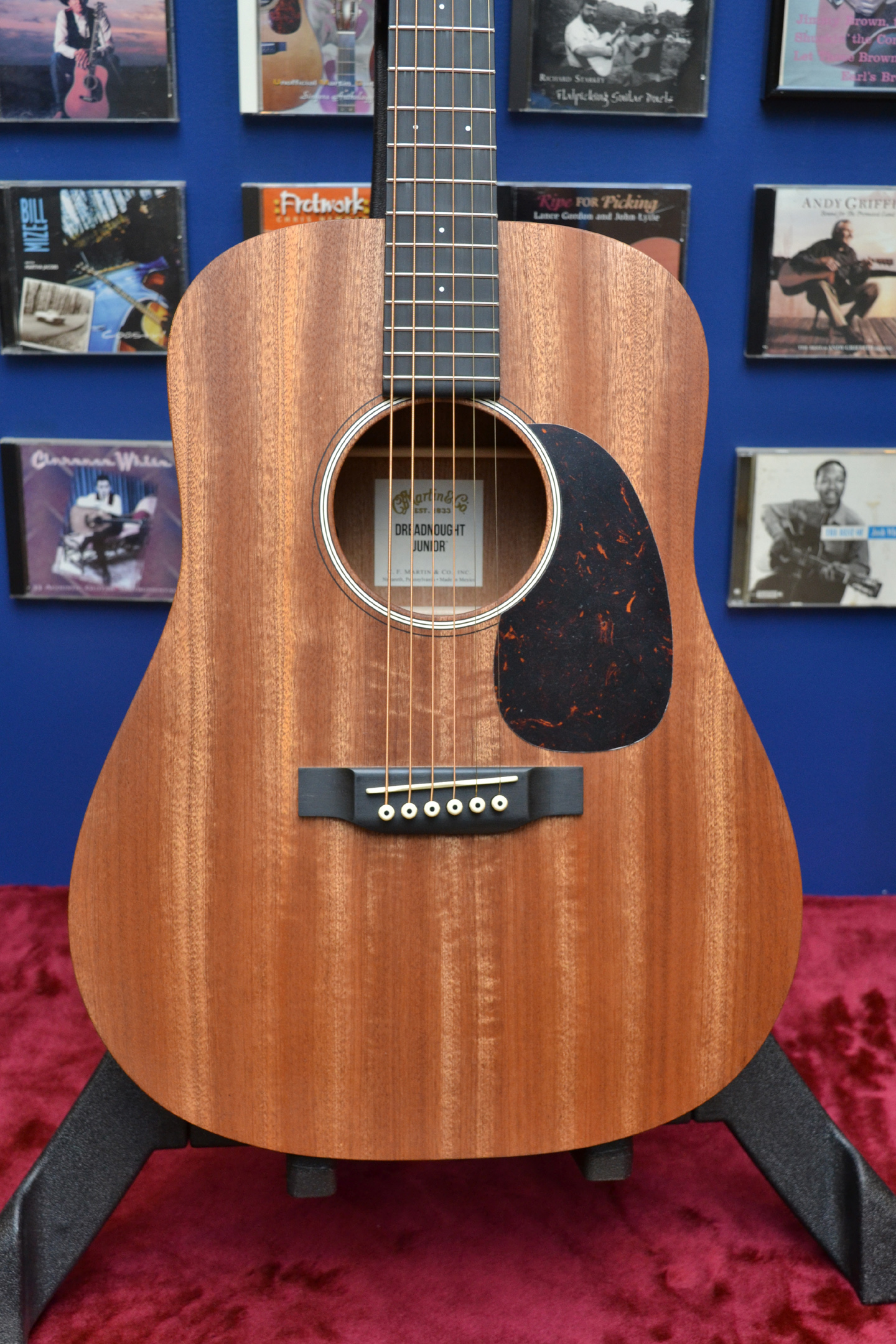 Martin D Jr 2 Sapele top NAMM 2017
