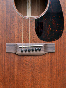 Martin GPC-15ME Indian rosewood bridge NAMM