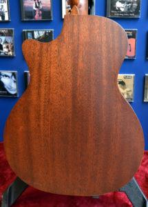 Martin GPC-15ME mahogany back NAMM