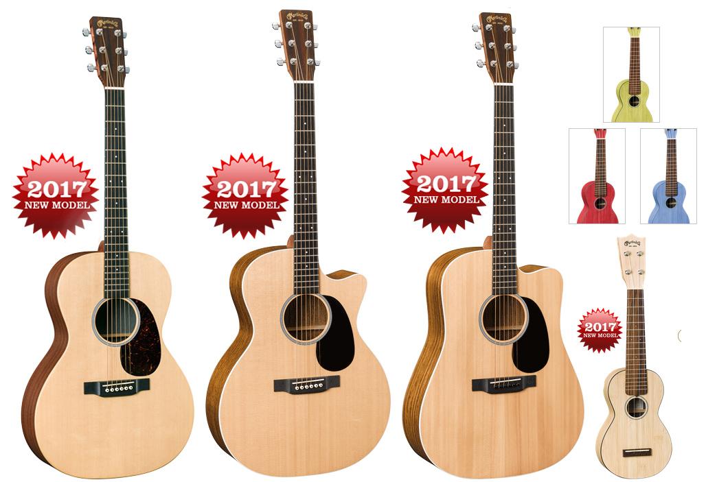 2017 Martin X Road Series ukulele NAMM