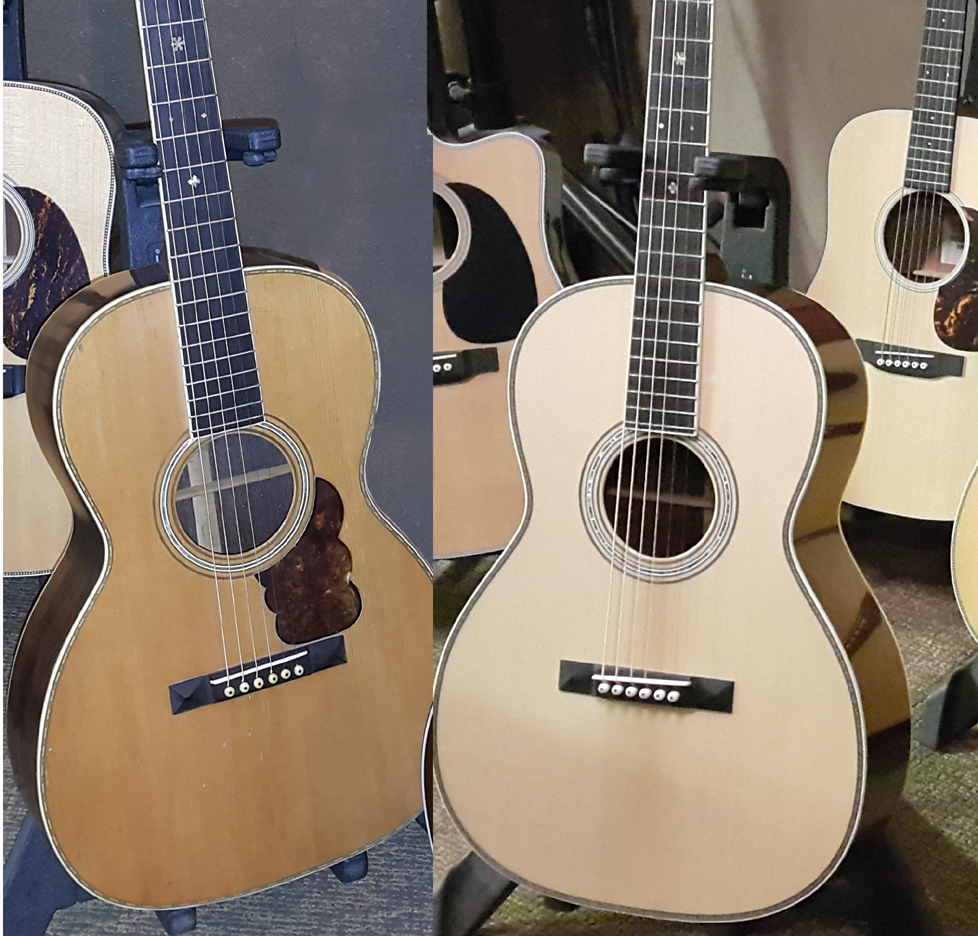 USE Martin 000-30 Authentic 1919 compare 2