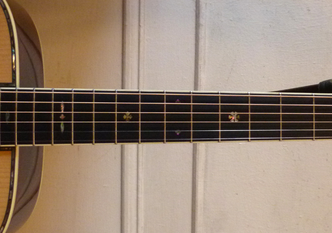 Martin 000-42 conversion fretboard
