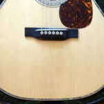 Martin 000-42 conversion Adirdonack spruce top close