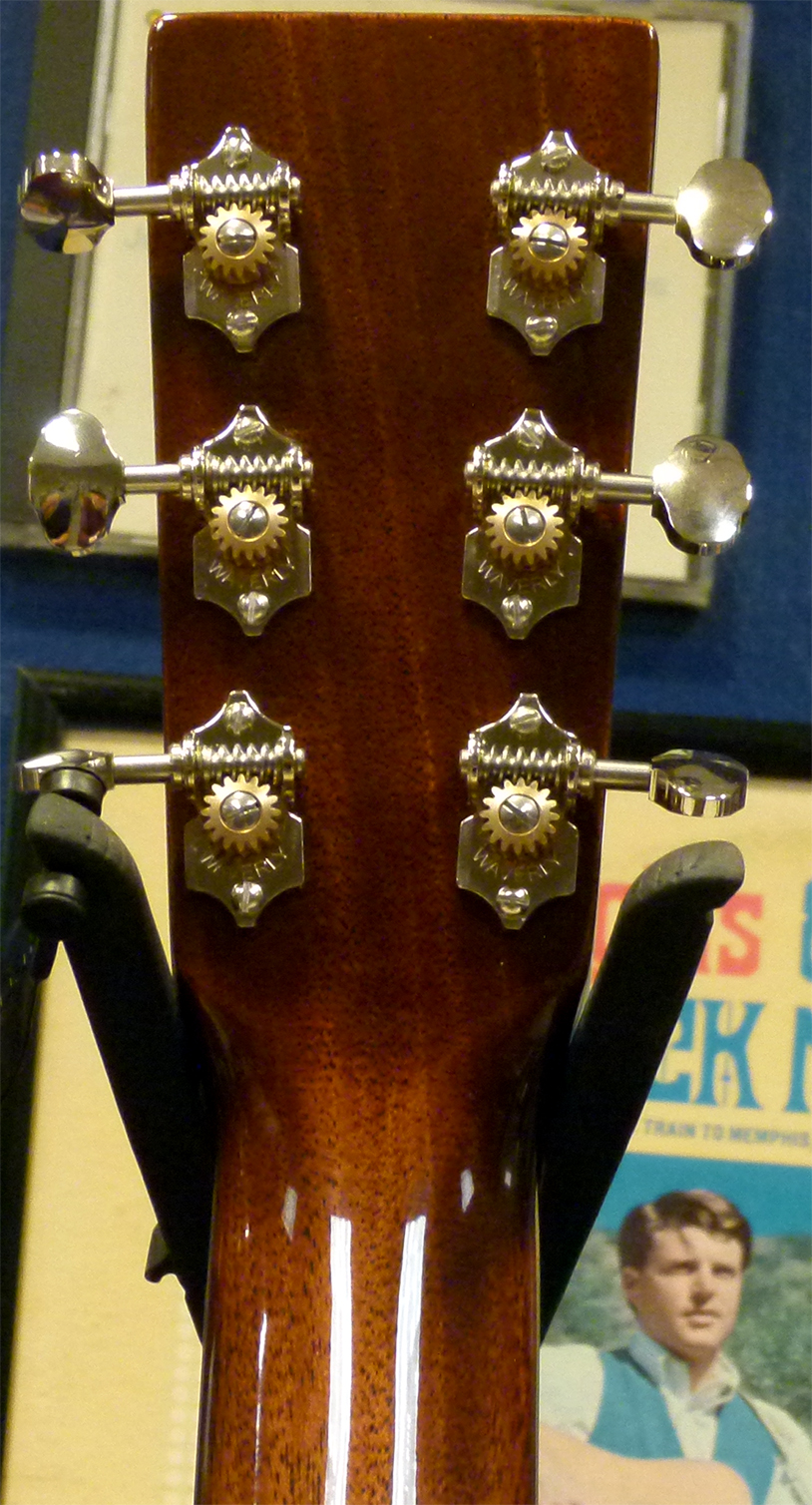 Use CS-CFMartin Outlaw-17 Waverly tuners