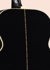 Gibson SJ-200 Ebony Limited back strip