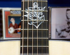 D-18 Jason Isbel Ditson tatoo inlay