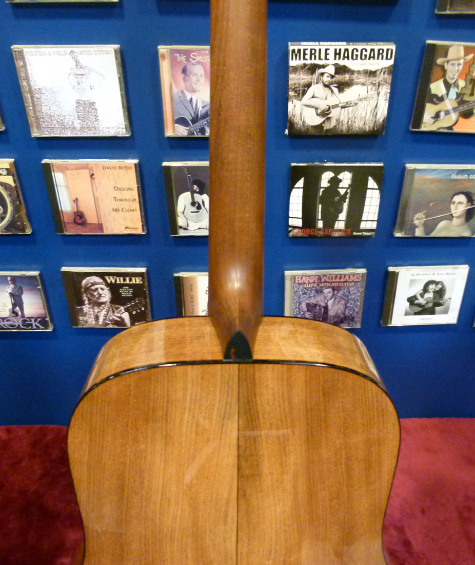 a Martin Model America 1 shoulders