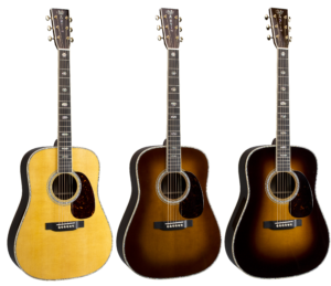 Martin D-41 (2018) three toners