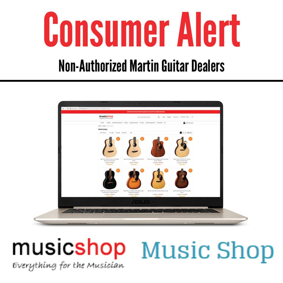 Fraudulent Guitar Websites