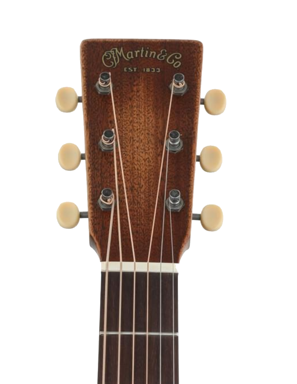 Martin D-15M StreetMaster Headstock
