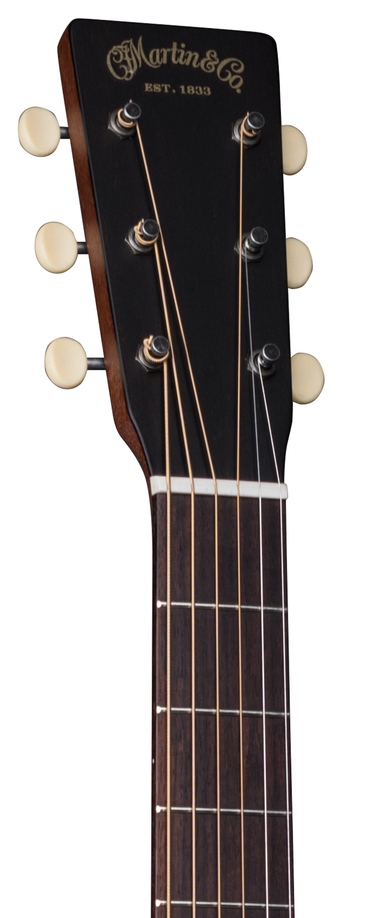 Martin DSS-17 Whiskey Sunset headstock