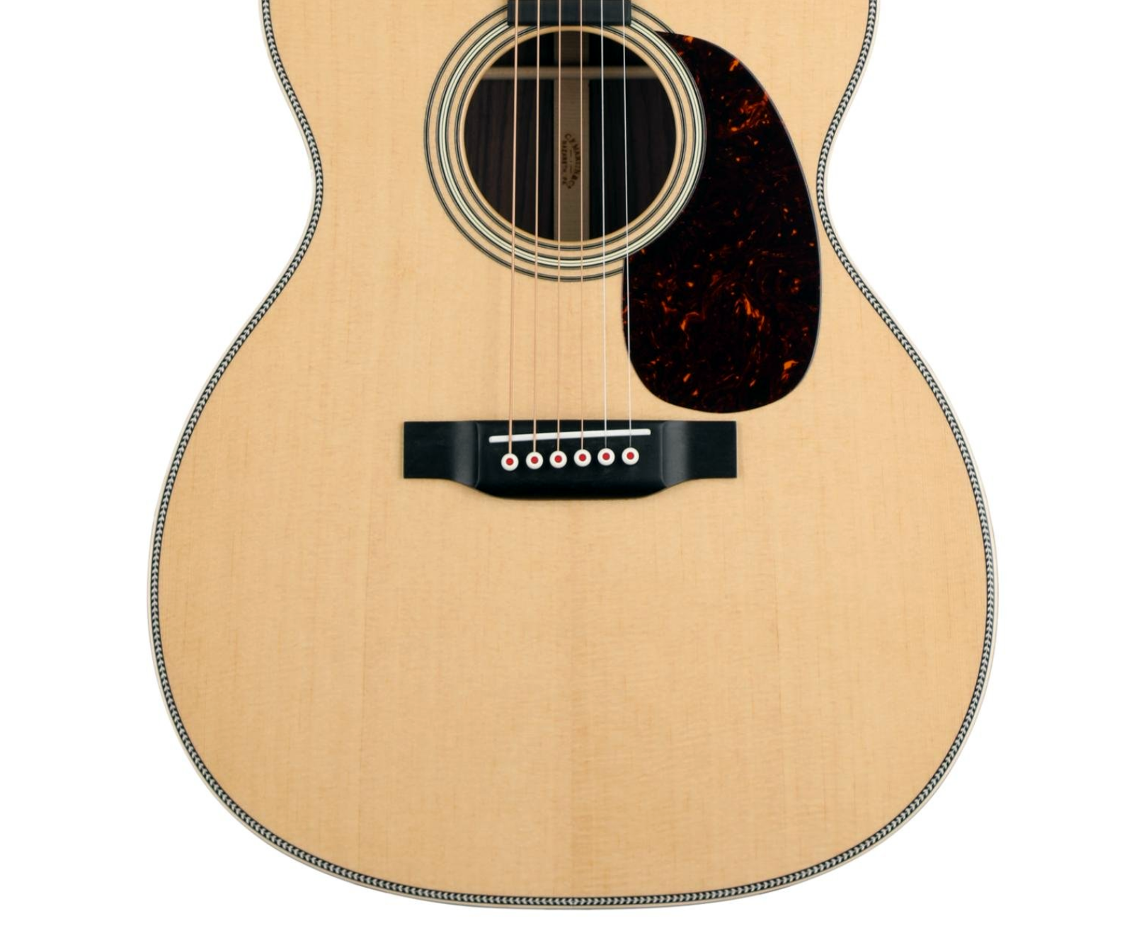 Martin 000-28 Modern Deluxe lower bout