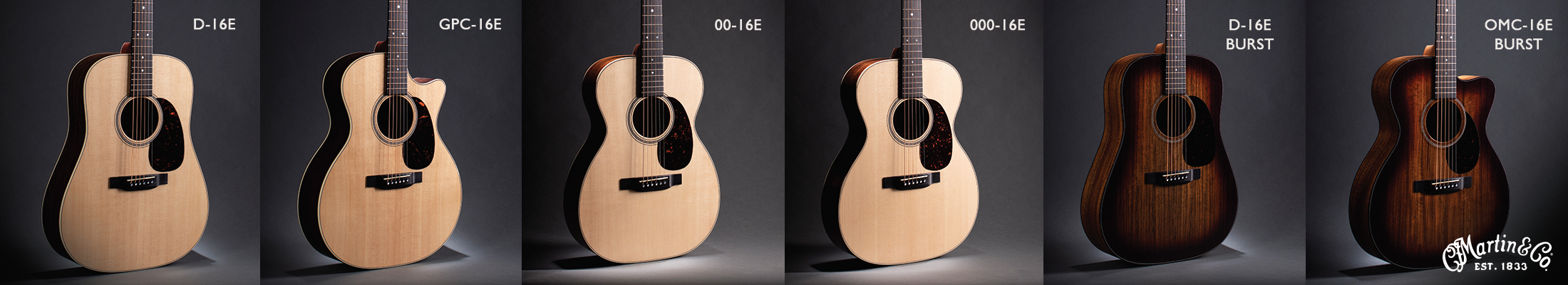 Martin Guitar 16 Series strip Summer NAMM