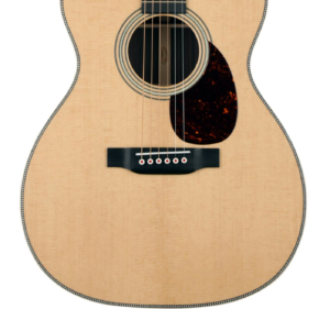 Martin OM-28 Modern Deluxe lower bout