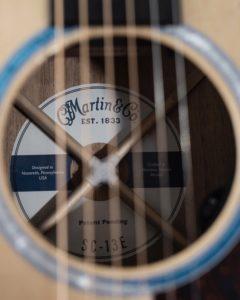 Martin SC-13E NAMM label onemanz