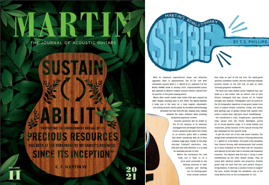 Martin Journal Cover and SC-13E page onemanz