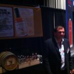 Rough Rider Whisky's Richard Stabile at Whiskyfest 2013