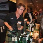 Simon Brooking of Laphroaig at Whiskyfest 2013