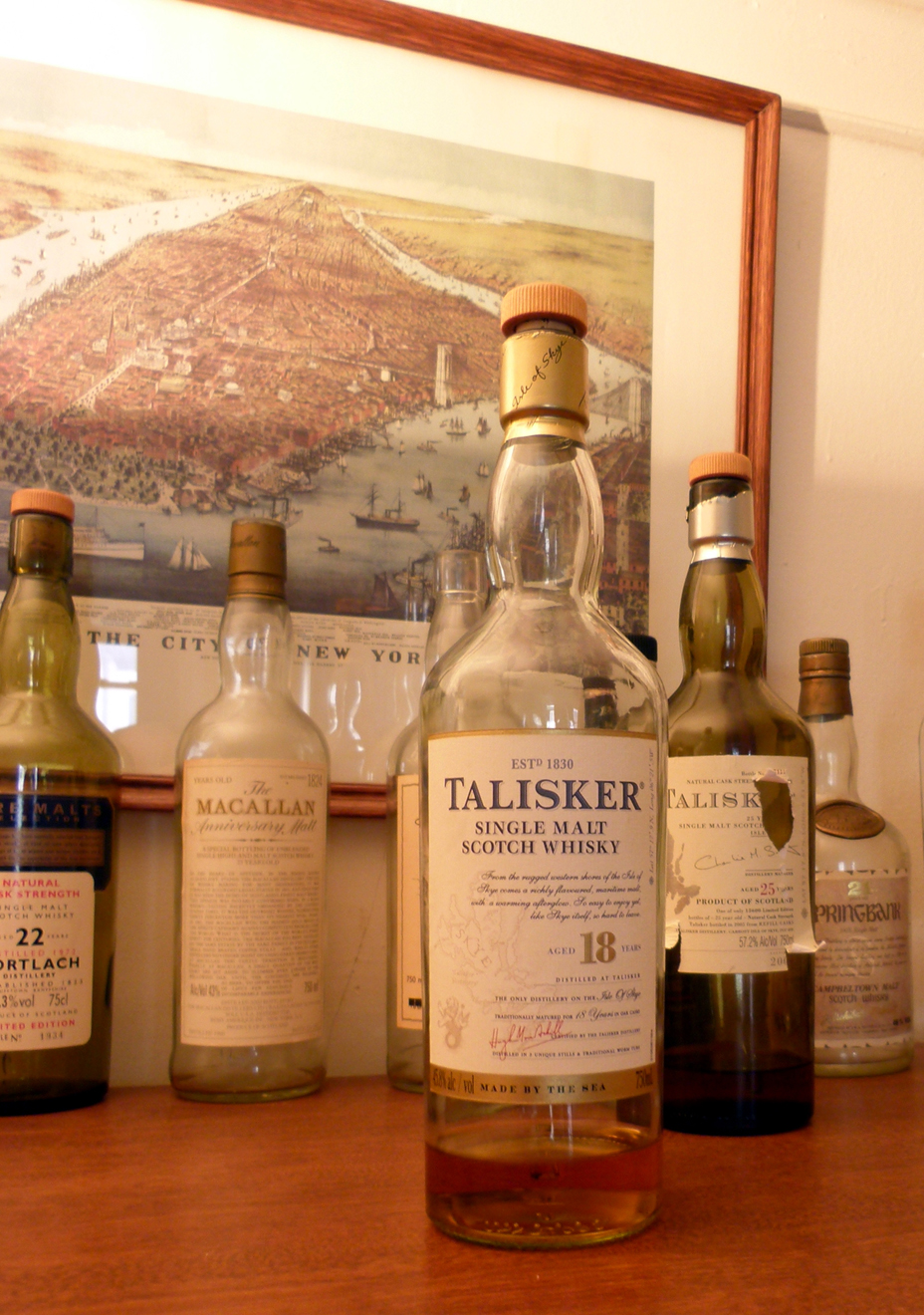 Talisker 18 Review pic One Man's Malt 1mansmalt.com