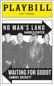 Pinter's No Man's Land Beckett's Godot