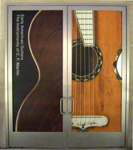 Early American Guitars: the Instruments of C.F. Martin Metrpolitcan Museum of Art door