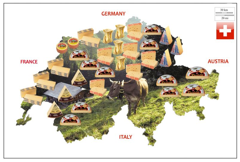 swiss cheese map