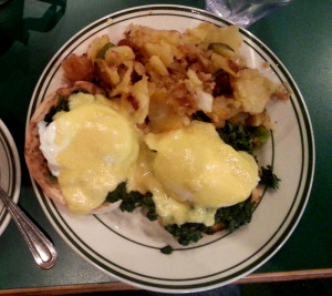 Easay Eggs at the Park Cafe, Brooklyn ala Florence