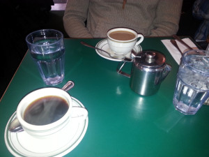 Easy Eggs and hot coffee in Brooklyn