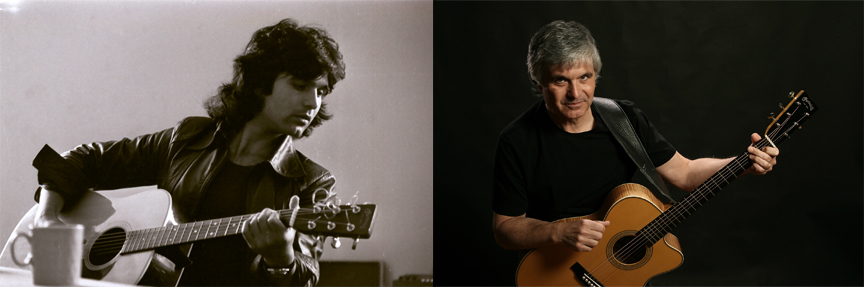 Laurence Juber then and now