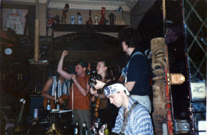 The Cheese Beads circa 1991 D.B.S. punk rock reunion