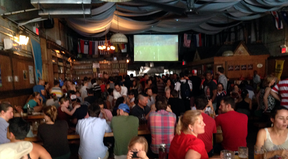 Tim Howard World Cup from Brooklyn Bar
