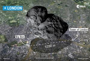 Comet_over_London ESA