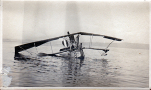 Hard landing in Italy Armistice Day