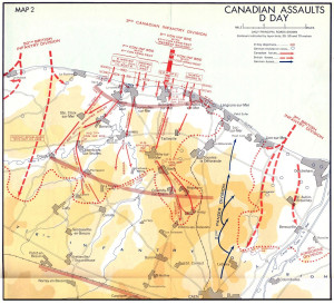 Canadian D Day Landings Normandy